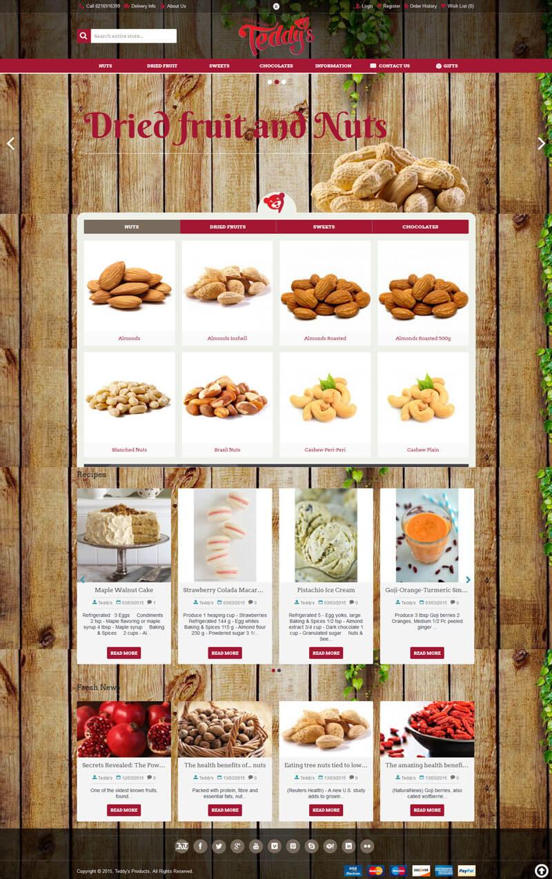 Ecomm Website Design - Online Shop - Online Store